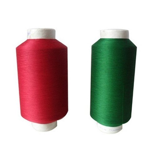 Semi-Dull Cotton Spun Dyed Fibre Yarns, For Textile Industry