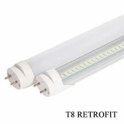 Cool White Ceramic LED Tube T8 Retrofit Light, Model No.: PLTLTR8