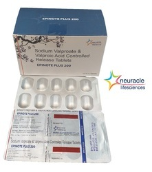 Sodium Valporate & Valproic Acid Controlled Release Tablets