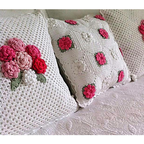 Floral Crochet Pillow Covers Crochet Pillow Covers Neha Fascinating How To Crochet A Pillow Cover