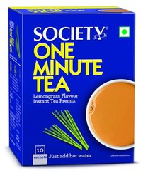 Society One Minute Tea Lemongrass Flavor Instant Premix
