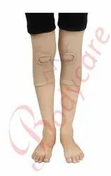 Elastic Tubular Knee Support with Centre Hole