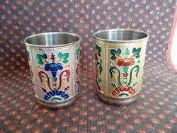 Meenakari Glass