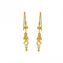 Tanishq Gold Earrings