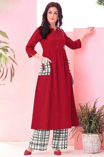 2e0519c142d Designer Long Cotton Party Wear Kurtis Catalog Online Seller Mohini Exports  From Gujarat