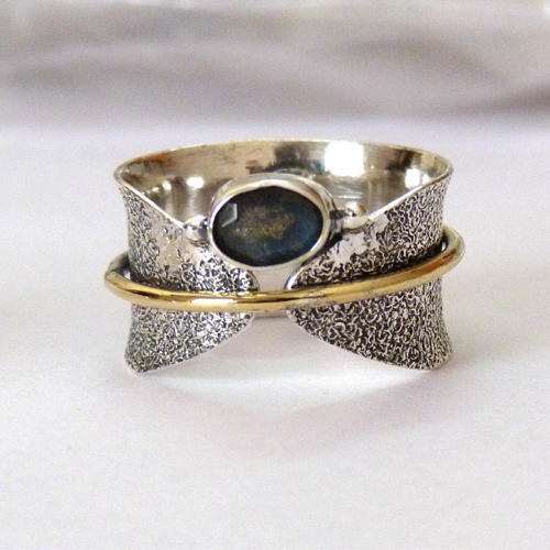 Indian Handmade Antique Silver Rings Jewelry