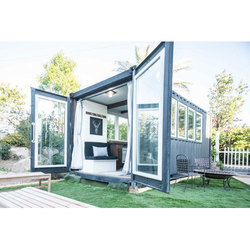 Glass Door Container House