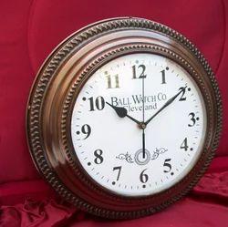 Metal Wall Clock in 8 Inch