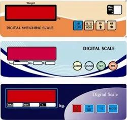 PVC Weighing Scale Sticker