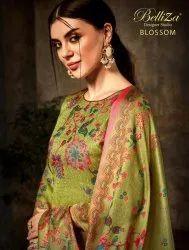 Embroidered Designer Salwar Suits by Belliza Designer Studio