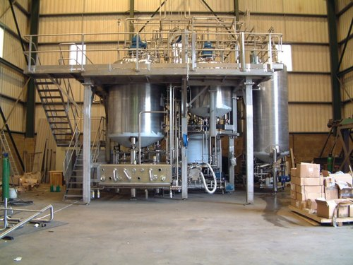 Resin Plant - Resin Plant Manufacturing Reactor Manufacturer from