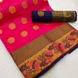 Banarasi Matki Saree