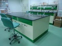 Double Analytical Lab Bench