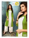 Garima Vol 2-Jhala Impex New Latest Tradition Rayon With Sifli Work Kurtis With Designer Palazzo