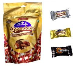 Chocolate With Almond - Dark Chocolate 100g