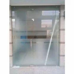 12 mm Plain Toughened Glass Door, Size/Dimension: Approx 3 X 7 Feet