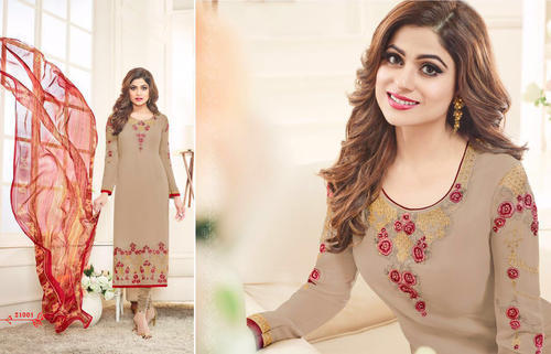 Formal Wear Georgette Salwar Suit