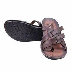EVA Daily Wear Men VKC Brown Slipper, Size: 6-10 Uk