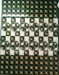 Dakshinamurti Multicolored 12x18 Wall Tiles, Thickness: 6 - 8 mm, Size: Medium