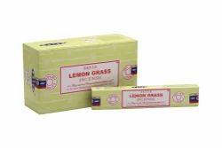 Satya Lemongrass Incense Sticks 15 Gram Pack