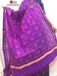 Ikat Silk Patola Dupatta