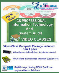 Best Information Technology and System Audit Video Class