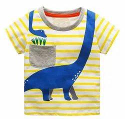 Multicolor Cotton baby T-shirt