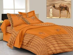 Patch Worked Bed Sheets