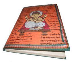 Ganesha Printed Handmade Paper Journal