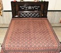 Ajrak Printed Cotton Bed Sheets