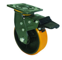Polyurethane Caster Wheel With CI Core