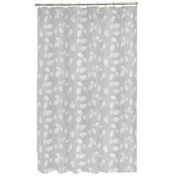 Maytex White Mills Just Leaves Peva Vinyl Shower Curtain