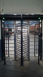 Full Height Turnstile with Fingerprint Base Access Control System, Power Supply: 180 ~ 270V, 47 ~ 63Hz