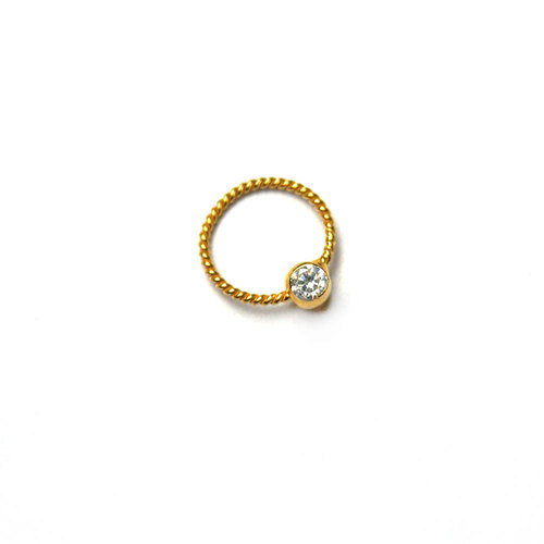 Golden 9mm Nose Rings Rs 1500 Piece Vishesh Jewels Craft