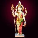 Ardh Nageshwar Marble Statue