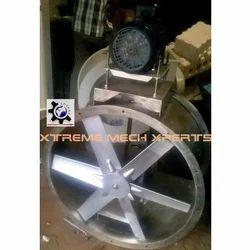 Axial Flow Casted Aluminum Fans