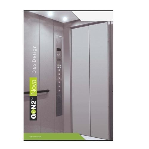 Otis Gen2 Nova Mid Rise Machine Room 5 Person Elevator
