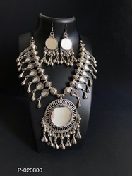 Oxidized Traditional Necklace
