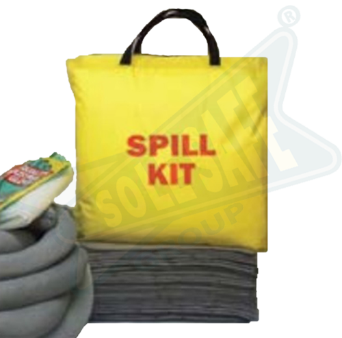 Universal Spill Kit, 6 Gallon, Bucket, Super Safety Services