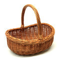 Decorative Wooden Baskets with Handle