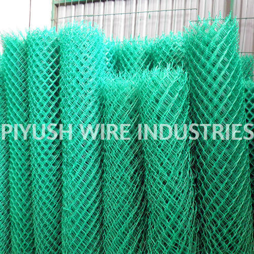 Pvc Coated Chain Link Fencing For Domestic Rs 300