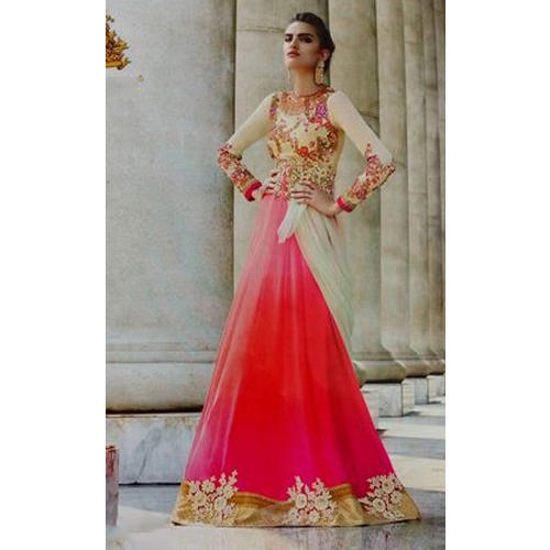 Wedding And Stitched Ladies Fancy Party Wear Gown