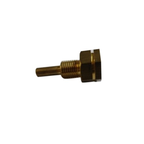 Brass Temperature Sensor Part, Polished