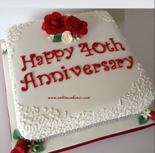 Anniversary Fondant Cake At Rs 2349 Piece करम कक