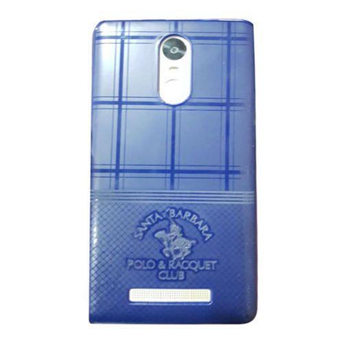 36f8f4309ba Blue Rubber Mobile Back Cover