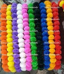 Original Look Plastic Marigold Garlands