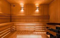 Wooden Sauna Cabinet