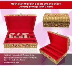 Card Board Wooden Bangle Box, Shape: Square