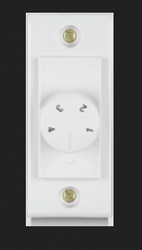 Anchor White Mini Fan Regulator Rotary Step