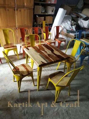 Admirable Industrial Tolix Dining Furniture Machost Co Dining Chair Design Ideas Machostcouk